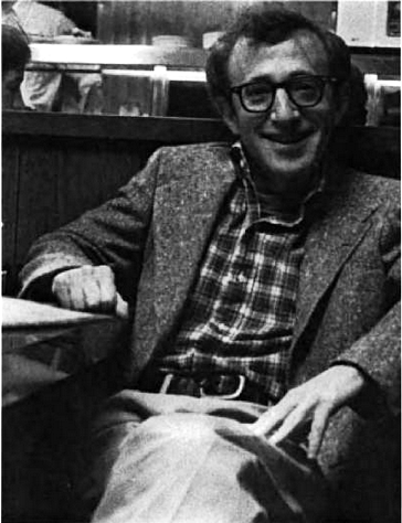 Behold, 'tis the great Woody Allen!